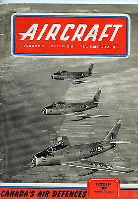 great korea war era magazine on aircraft canada's aviation newsmagazine1951