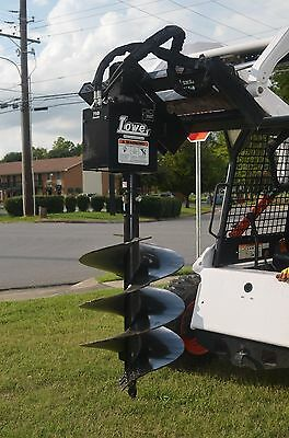 """Bobcat Skid Steer Attachment - Lowe 750 Hex Auger with 24"""" Bit - Ship $199"""