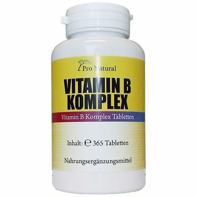 Vitamin B12 - 365 Tabletten mit 1000mcg - Methylcobalamin - 100% vegan B-12