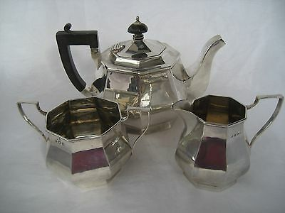 Splendid Solid Silver Bachelor Tea Set