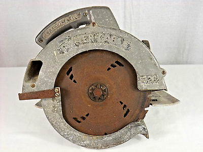 Vintage Rockwell 528 Type B Heavy Duty Circular Saw - Porter Cable 528 - WORKS