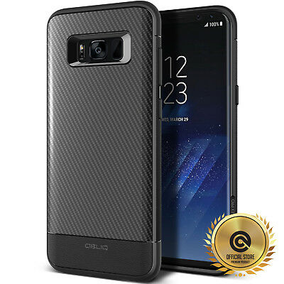 OBLIQ® Galaxy S8 /S8 Plus [Flex Pro]Carbon Case Shockproof Slim Protective Cover