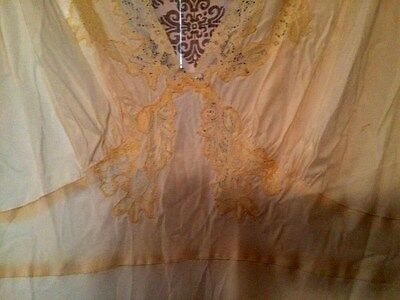 Vintage Ivory and Lace Nightgown Carla's Lingerie Brand