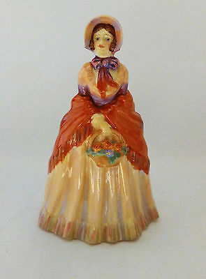 Paragon Joan Figurine - Lady In Hat Holding a Basket of Flowers