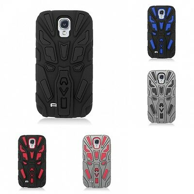 For Samsung Galaxy S4 Hybrid Scorpion Style Case Armor Shockproof Hard Cover