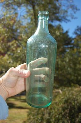 Antique vintage moxie a.b. co. bottle soda advertising nice air bubbles