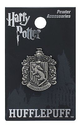 *NEW* Harry Potter: Hufflepuff Pewter Lapel Pin by Monogram