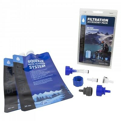Sawyer Water Filtration Accessory Pack to suit Squeeze & Mini