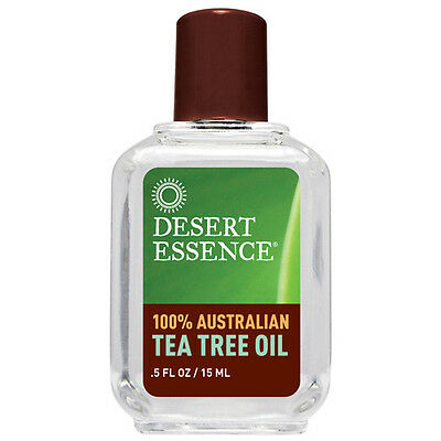 100% Australian Tea Tree Oil 0.5 Oz by Desert Essence