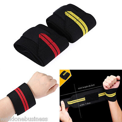 High Elastic Soft Winding Pressing Wrist Guard Sweatband Sports Protective Gear