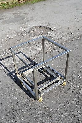 Stainless Steel Cube Trolley