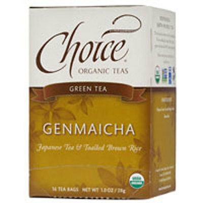 Genmaicha Green Tea With Toasted Brown Rice 16 BAGS