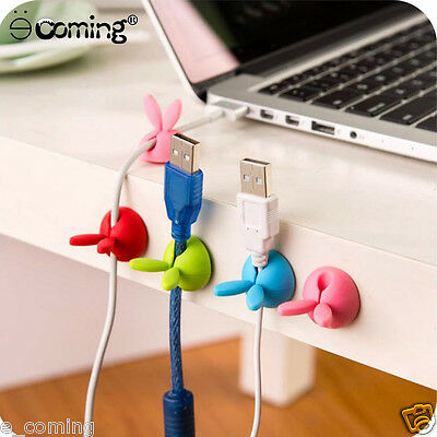 Earphone Holder Winder Cable Line Wire Wrap Organizer Winder Tidy For Headphone