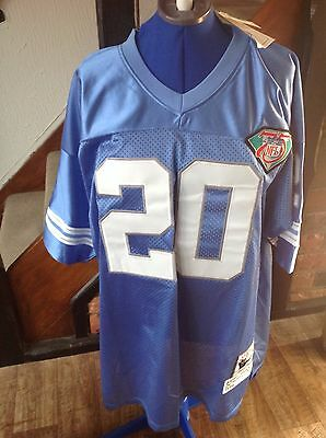 Sanders #20 Mitchell & Ness 1994 Throwback Jersey Sz 54 NFL 75th Ann - New/Tags