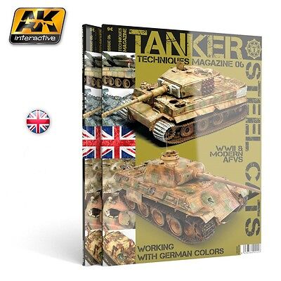AKBOOK4826 AK Interactive - Tanker Magazine Issue 06 Steel Cats