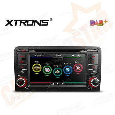 "XTRONS 7"" 2 DIN Car CD DVD Player GPS Navigation Stereo Radio for Audi A3 S3 RS3"