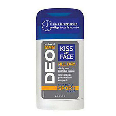 Deo Natural man Sports 2.48 Oz by Kiss My Face