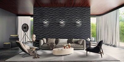 Crafts Concrete Stamps, Forms & Mats *ether* 3d Decorative Wall Panels 1 Pcs Abs Plastic Mold For Plaster