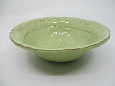 "VIETRI BELLEZZA CELADON (Green) CEREAL BOWL - 7 1/2"" x 2 1/2"" NEW 0711G"