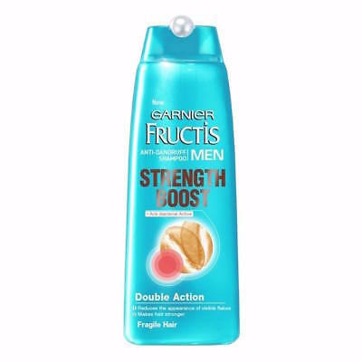 ** GARNIER FRUCTIS MEN ANTI DANDRUFF SHAMPOO STRENGTH BOOST 250ml NEW**
