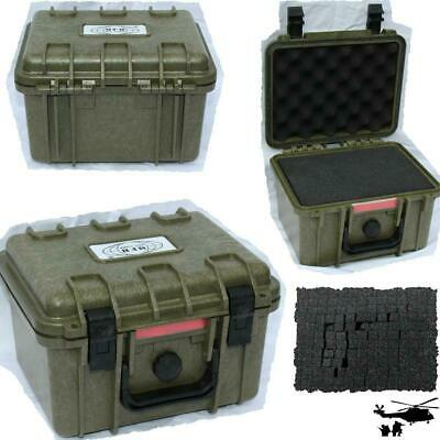 BOX KUNSTSTOFF WASSERDICHT Transportkoffer 26,7x23,9 x 17,6  OUTDOOR Box Case