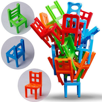 """Balance Chairs"" Board Game Children Educational Toy Balance MW"