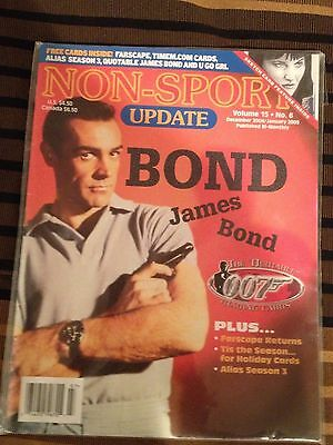 Non-Sport Update Volume 15 No. 6 December 2004/January 2005 Quotable James Bond
