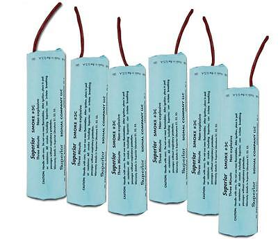 Superior Signal 3C Smoke Candle 6-pack, 3 min/40,000 cu ft each, FREE Shipping