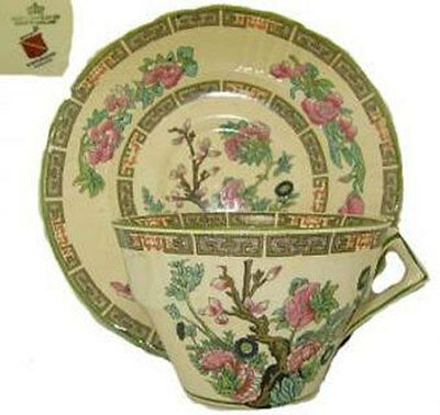 Indian Tree Dinner Ware Collection Staffordshire England Vintage Rare China Nice