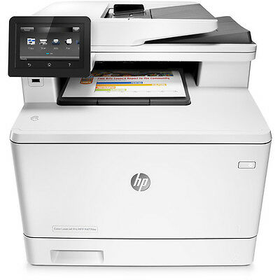 HP Color LaserJet Pro M477fdw All-in-One Laser Printer