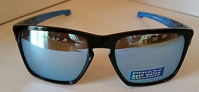 14accdee5f9 Oakley Sliver XL Polarized OO9341-12 Polished Black Prizm Deep H2o polarized  NEW