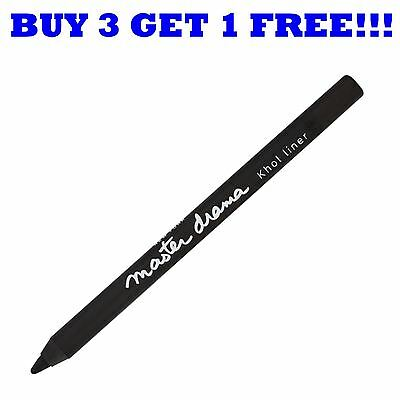 Maybelline Eye Liner Pencil Master Drama Ultra Black