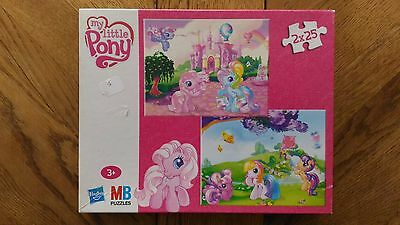 2 Puzzles MB « My Little Pony » Bon Etat.