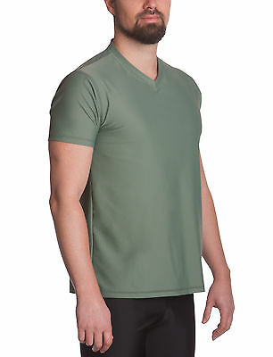 IQ UV 300 V-Shirt Regular Fit Herren (olive) 638122.2560 Collection 2017 NEU