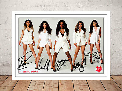 Fifth Harmony Camila Cabello Autographed Signed Photo Print
