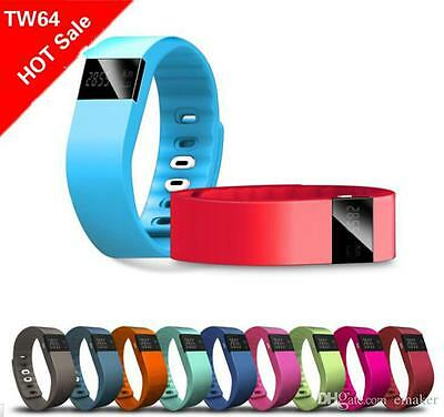 TW64  Bluetooth Smart Bracelet Sport Watch Step Calorie Counter Tracker Fittnes