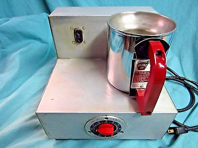 Vintage Heinz 57 Helmco Hot Cup Soup Warmer- Works !