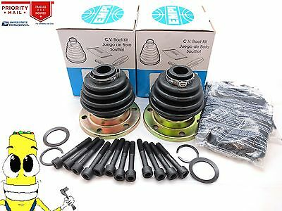 Inner & Outer CV Axle Boot Kit For Volkswagen Type III Fastback 1969-1973 w/ IRS