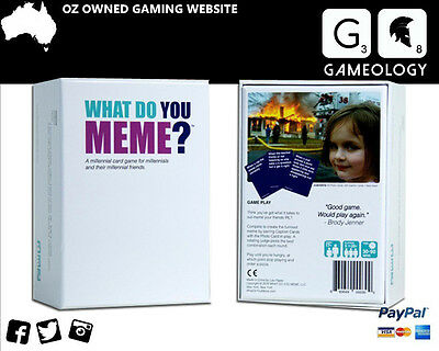 What do you meme? Board Game Card Game Party Game