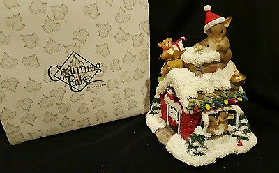 Charming Tails Musical Here Comes Santa Claus by Fitz and Floyd 87/121