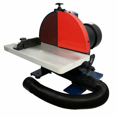 RIKON 51-202 120-Volt 12-Inch 1.25-Hp Durable Disc Sander w/Guard and Dust Hose