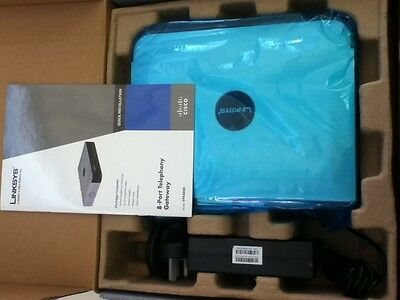 Linksys Cisco Spa8000 8 Port Ip Telephony Gateway