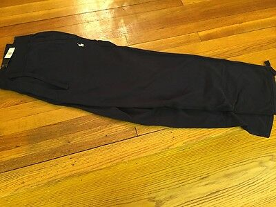 New Polo Ralph Lauren Big and Tall PIQUE Pants 3XB  Navy Blue