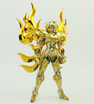 MC Saint Seiya Soul of God EX Leo / Lion Aiolia Action Figurine