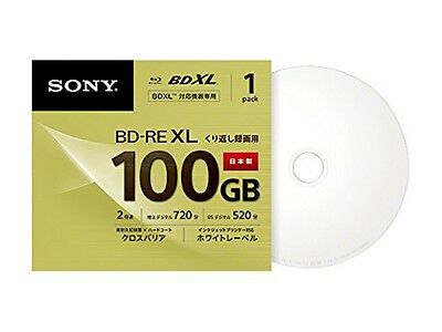 SONY Blue-ray 100 GB disc BNE 3 VCPJ 2 GB BD-RE BDXL 3D Bluray Triple Layer