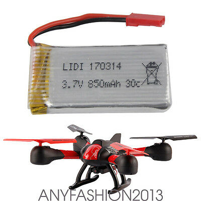 RC Quadcopter Parts 3.7V 850mAh lipo Battery for JXD 509 509G 509W 510G RC