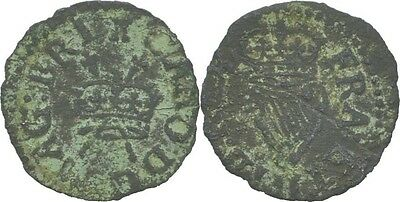 Armstrong Coinage Farthing 1660-1670 Irland Charles II., 1660-1685 #V226