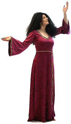 BLACK CURLY WIG 70/'s-Cher-Hippy-Mother Gothel-Tangled-World Book Day