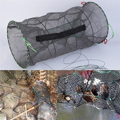 Crab Trap Net For Crab Prawn Shrimp Crayfish Lobster Eel Live Bait Fishing Ht