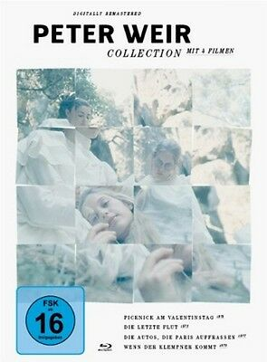 Peter Weir Collection [4 Blu Ray Box ] - NEU/ OVP 4 Filme * digital remastered *
